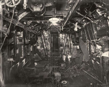L'intérieur d'un U-Boat de la Première Guerre Mondiale - La boite verte | Nos Racines | Scoop.it