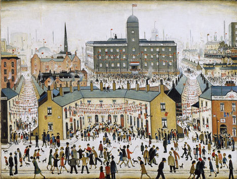 LS Lowry at Tate Britain: glimpses of a world beyond | on art and design | Scoop.it