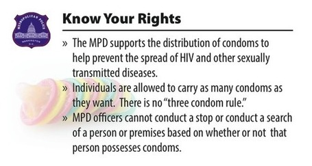 D.C. Police Clarify That Carrying More Than Three Condoms Is Not Against the Law | Escorts | Scoop.it