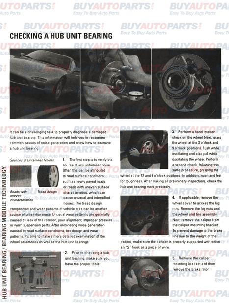 How to check a hub bearing | Eldarozel News | Scoop.it