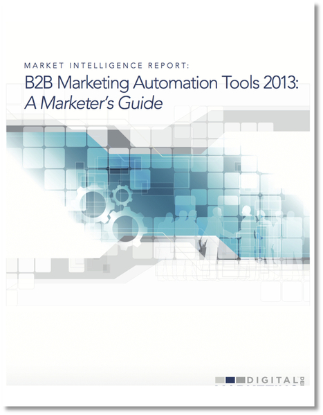 FREE --> B2B Marketing Automation Tools 2013: The Marketer's Guide UPDATED | Public Speaking & Leadership | Scoop.it
