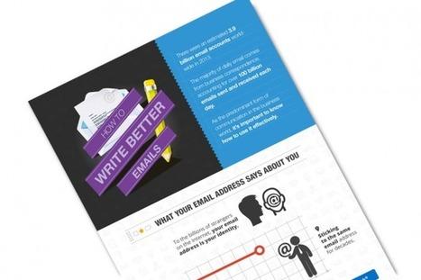 Comment écrire de meilleurs e-mails ? (infographie) | Widoobiz | Freelancing & Entrepreuneurship | Scoop.it