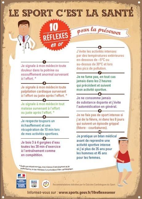 Exercice de FOS : le sport et la santé | j'aime la langue française | Scoop.it