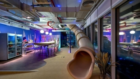 Office Slides? A Draft Beer Bar? Check Out These 6 Innovative (and Fun) Workspaces | Stress-Less, Create More | Scoop.it