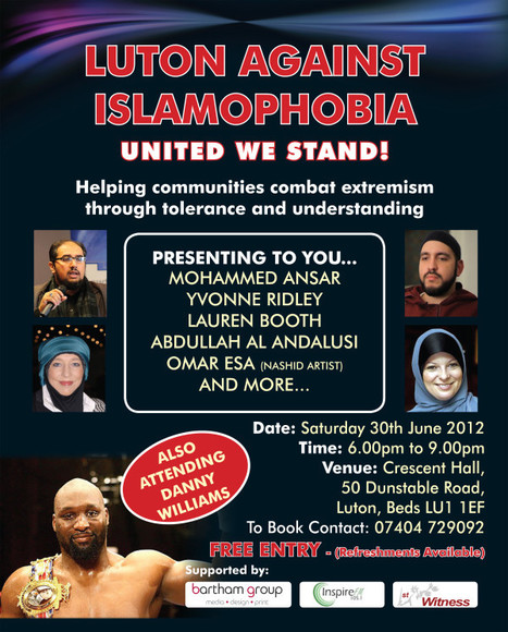 Luton Against Islamophobia and Free Speech | Race & Crime UK | Scoop.it