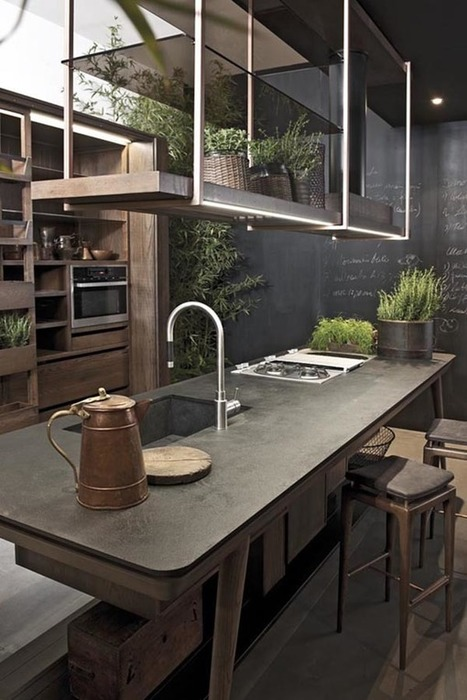40 Amazing and stylish kitchens with concrete countertops | Concrete.Network | Scoop.it