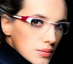Look Beautiful with Glasses   Look Pretty In Glasses    Tips For Glass Wearers    Stylish Look With Glasses      Be Attractive With Glasses   beauty   Scoop.it