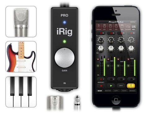 Pro Music Apps » Blog Archive » IK Multimedia announces iRig PRO | MAT : Musique Assistée par Tablette | Scoop.it