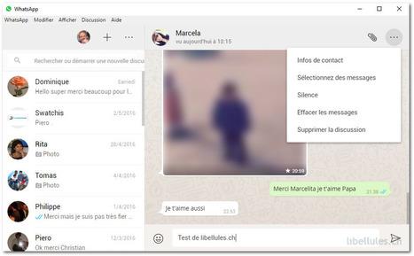 WhatsApp Web - Toutes vos conversations, images, vidéos,  accessibles à partir du bureau | Chroniques libelluliennes | Scoop.it