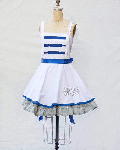R2D2 Retro Style Star Wars Dress | GeekGasm | Scoop.it