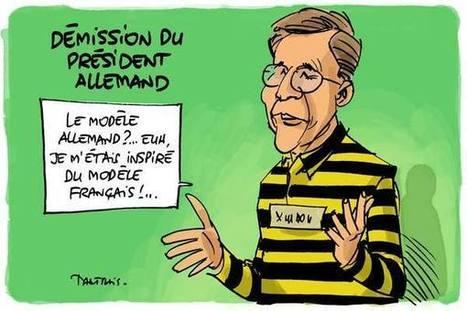 Démission du président allemand | Baie d'humour | Scoop.it