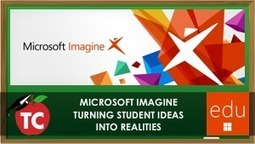 Learn how the new Microsoft Imagine will allow your students digital ideas become reality! | Edtech PK-12 | Scoop.it