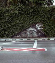 Top10 des street art créatifs qui font intervenir la nature | street art | Scoop.it