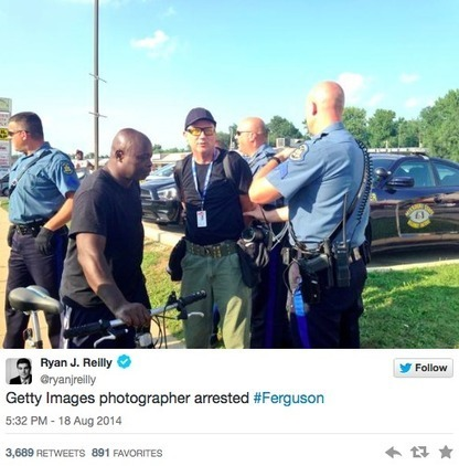 Getty Photographer Arrested by Ferguson Police | Coffee Party News | Scoop.it