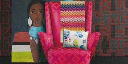 Salon Maison&Objet 2013 : vive l'ethnique chic et les imprimés !   Décoration d'intérieur, tissus et papiers peints de luxe   Scoop.it