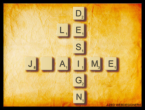Effet de texte : tuiles de lettres scrabble. | | Photoshop Design | Scoop.it