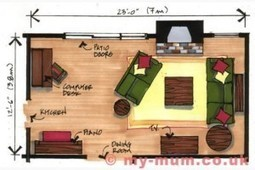 4 Rules For Arranging Furniture | Home Improvement | Scoop.it