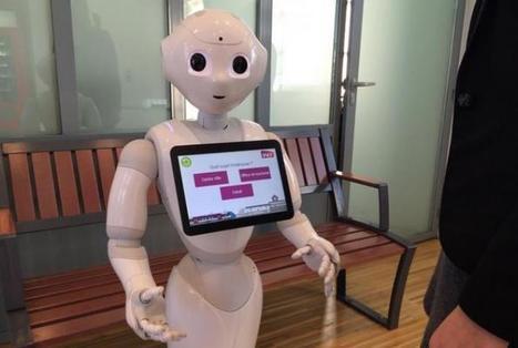 Robotique : la SNCF fait débarquer les robots dans ses gares | Presse-Citron | Des robots et des drones | Scoop.it