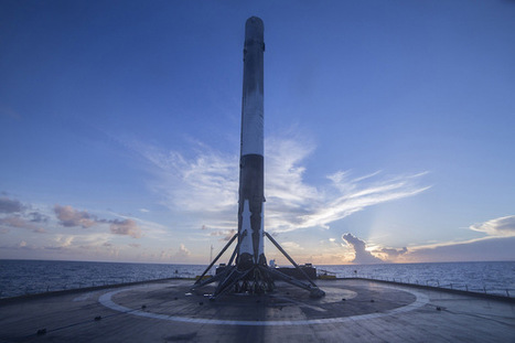Another Falcon 9 rocket returns to perch in Port Canaveral | Spaceflight Now | The NewSpace Daily | Scoop.it