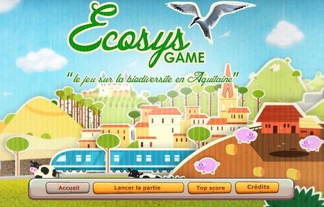 Ecosysgame, le jeu vidéo qui sensibilise aux enjeux de la biodiversité | Technologies numériques & Education | Scoop.it
