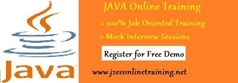 JAVA Online Training with Placement | JAVA Online Training | Scoop.it