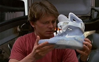 Les Nike Air Mag de Retout vers le Futur 2 sortiront en 2015 ! - Booska-p | sneakers-addicted | Scoop.it
