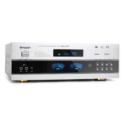 &&&   Auna AMP5100 5.1 Heimkinosystem HiFi Surround AV-Verstärker UKW-Receiver mit 1200 Watt max. und Mikro-Sektion (5.1/3.1/2.1 Modus, Equalizer, optisch/koaxial/Cinch, Mikro-Effekte, Fernbedienun... | Heimkinosysteme Kaufen | Scoop.it
