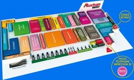 L'impression 3D s'installe chez Auchan   Retail technologies   Scoop.it