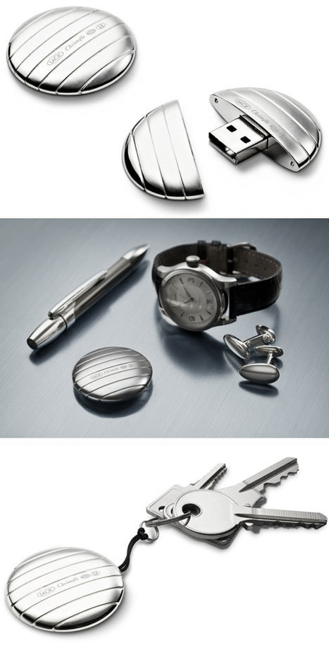 LaCie/Christofle's silver-plated USB key   Art, Design & Technology   Scoop.it