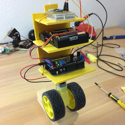 Insta-Arduino | Quick and dirty - Self Balancing Robot Hardware -... | Raspberry Pi | Scoop.it