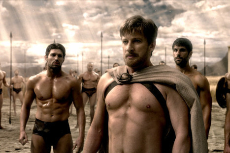 "How movies like ""300"" are warping the self image of boys and men 