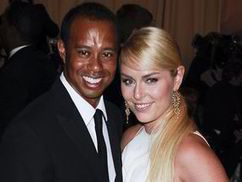Tiger Woods debuts mixed race relationship with new girlfriend Lindsey Vonn at the 2013 Met Ball | The Indigenous Uprising of the British Isles | Scoop.it
