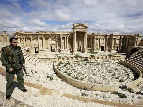 Militants carry out threat to destroy Unesco-protected historical sites as they are forced to retreat from Palmyra | The Independant | Kiosque du monde : A la une | Scoop.it
