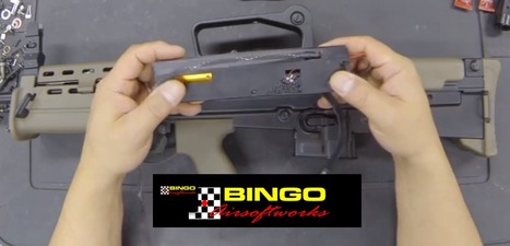 Bingo Airsoftworks ICS L85/L86 HPA Engine Gearbox Replacement Kit - on YouTube   Thumpy's 3D House of Airsoft™ @ Scoop.it   Scoop.it
