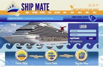 Cruiseline.com gets into mobile with purchase of ShipMate Cruise App | e-tourisme | Scoop.it