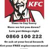KFC South Africa - Finger Lickin Gross !