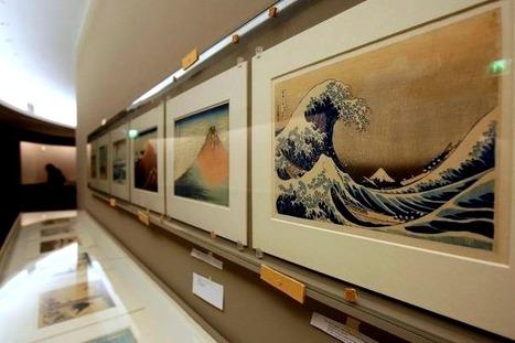 Musée Guimet – La grande vague d'Hokusai de retour et les estampes du MontFuji | Ca m'interpelle... | Scoop.it