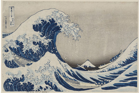 How Hokusai's 'The Great Wave' Went Viral | Navigate | Scoop.it