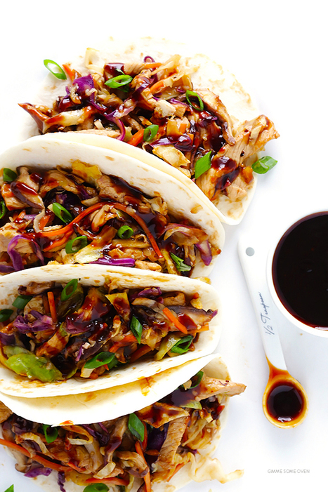 20-Minute Moo Shu Pork (or Chicken!) | Gimme Some Oven | Cuisines d'Asie | Scoop.it
