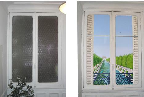 La peinture en trompe-l'œil vue par Leonor Rieti, artiste peintre à Paris   sortio   Scoop.it