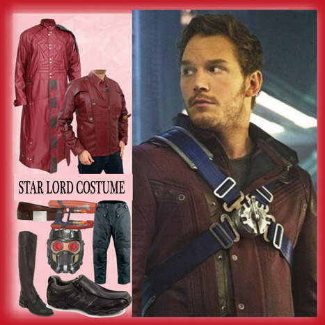 An A-Z DIY Guide Of Getting The Perfect Star Lord Costume | Mens Celebrity Fashion Jackets, Coat and Suits | Scoop.it
