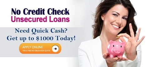 Guide To Give You The Better Understanding Regarding No Credit Check Loans! — Medium | No Credit Check Unsecured Loans | Scoop.it