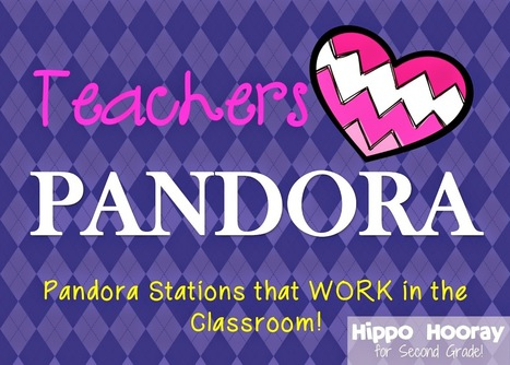 Pandora in the Classroom - Hippo Hooray for Second Grade! #edtech #artchat | Technology in Education | Scoop.it