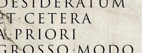 El latín sigue vivo | Cultura Clásica 2.0 | Scoop.it