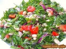 Salata consistenta de fasole si patrunjel | Food and recipes | Scoop.it