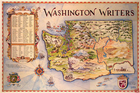 18 Literary Maps of the United States | AdLit | Scoop.it