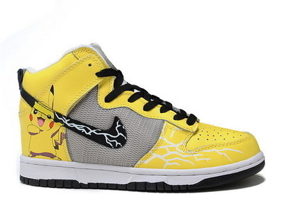 Nike Dunks Pikachu Pokemon Sneakers Yellow Nike Dunks Pikachu / Pokemon Sneakers | Pikachu Nike Dunks | Scoop.it