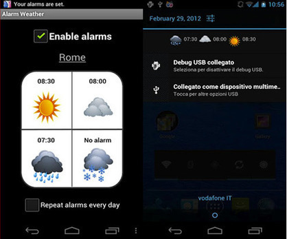 » AlarmWeather: la prima sveglia basata sul meteo » Software, - AndroidWorld.it AndroidWorld.it | Android Apps | Scoop.it