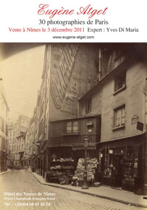 Eugène Atget 30 pictures of Paris | Livres photo | Scoop.it