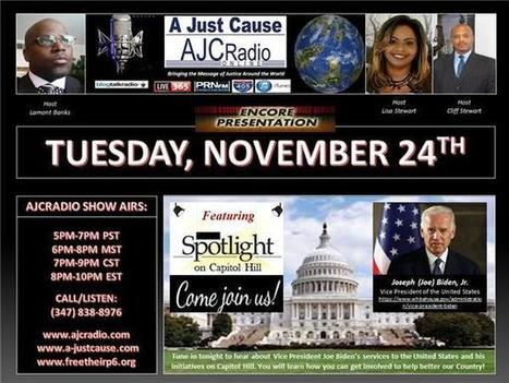 A Just Cause - Encore Presentation: Spotlight on Capitol Hill & VP Joseph Biden | SocialAction2015 | Scoop.it